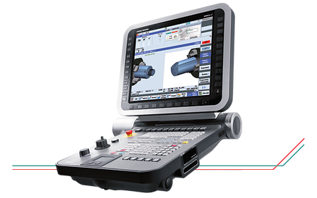 "19"" ERGOline Operating Panel with Sinumerik 840D sl and ergonomic, tactile Input Field"